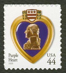 #4390 44c Violeta Corazón, Nuevo Cualquier 5=