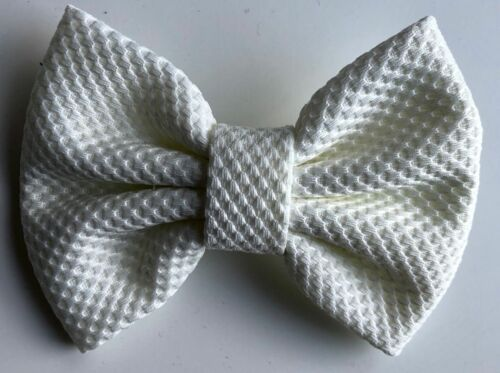 """Fabric Hair Bows 5/"""" with clip"""