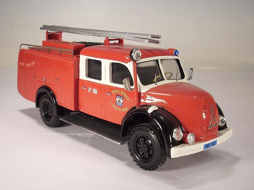 TEK Hoby 1 50 50 50 no. 5901 Magirus Deutz vigili del fuoco piccoli serie resin OVP  114 202ec7