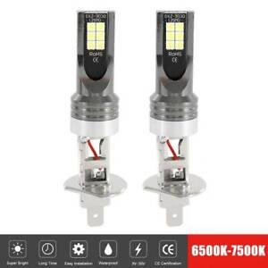 2X-H1-Xenon-Bombillas-LED-55W-Alta-Niebla-Haz-Faro-Conversion-Coche-55W