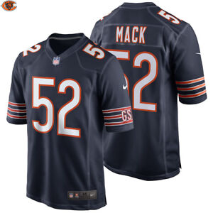 bbfd2330e98 NEW 2018 NFL Khalil Mack Nike Game Jersey Chicago Bears Official  52 ...
