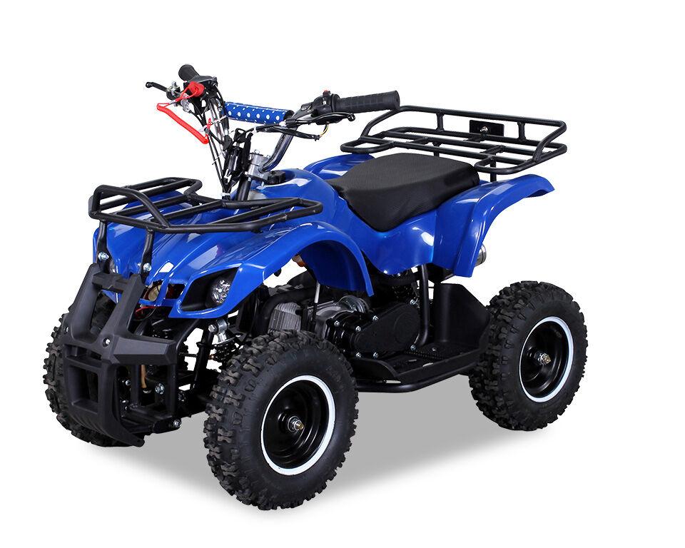 TORINO ATV Kinderquad Pocketquad Miniquad Quad Quad Quad Pocket Bike 49cc E-Start blau NEU 79c8f5