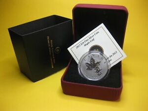 2013-10-Fine-Silver-Coin-The-Maple-Leaf