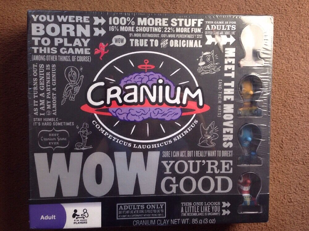 Cranium wow deluxe edition- brand new in box