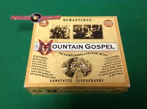 Mountain-Gospel-Sacred-Roots-of-Country-Music-USED-4-CD-Set-Piranha-Records