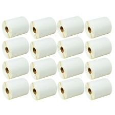 16rolls 500 4x3 Direct Thermal Labels Zebra Eltron Lp2824 Lp2844 Lp2442 Tlp2844
