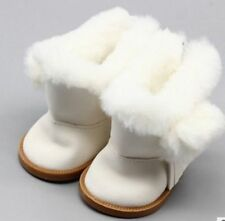 18Inch Dolls White Snow Boots Shoes Doll Accessory Gift A^