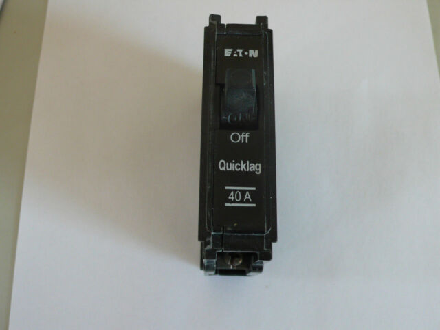 EATON QUICKLAG Miniature Circuit Breaker,  440/250V 6kA