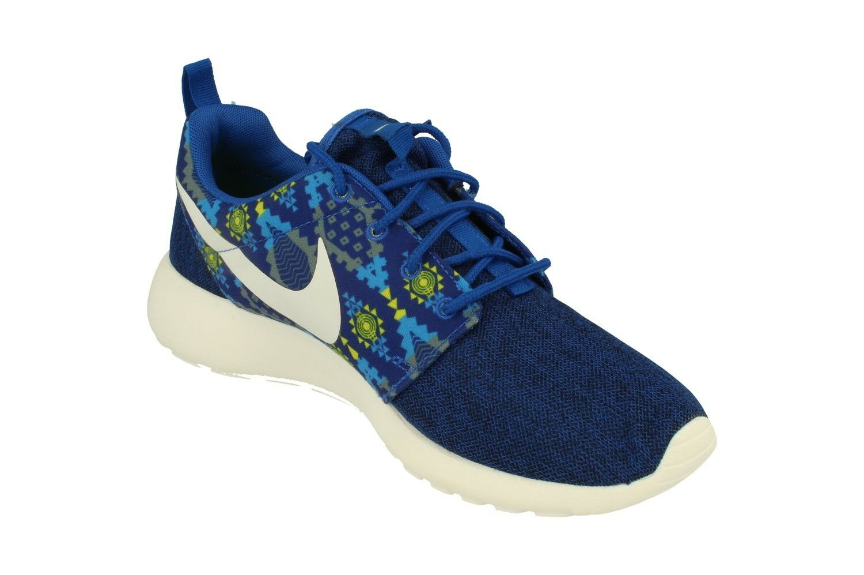Nike Uomo Roshe One Print  Uomo Nike Trainers 655206 Sneakers Schuhes 410 2f339f