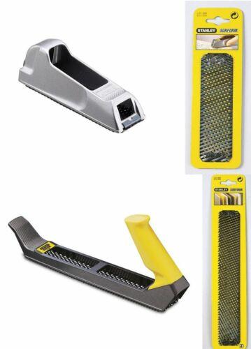 STANLEY Hobel Surform Standard Hobel oder Blockhobel oder Ersatzblätter