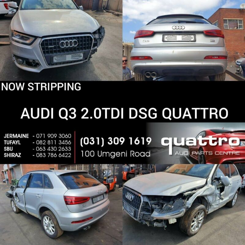 AUDI Q3 2.0TDI DSG QUATTRO STRIPPING FOR SPARES