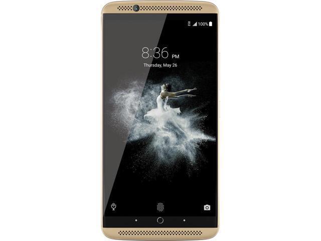 ZTE Axon 7, 5.5-Inch, 4GB RAM, 64GB Storage, 4G LTE, Dual SIM, Unlocked Smartpho
