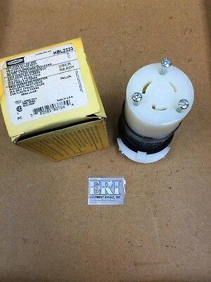 Hubbell HBL2323 Loc 32B Insulgrip Twist Lock Connector