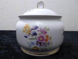 DDR Design Lichte Fine China Porzellan Dose Bonbonniere Vintage um 1970