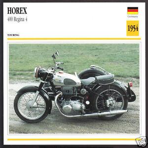 1954 horex 400 regina 4 399cc german motorcycle photo spec. Black Bedroom Furniture Sets. Home Design Ideas