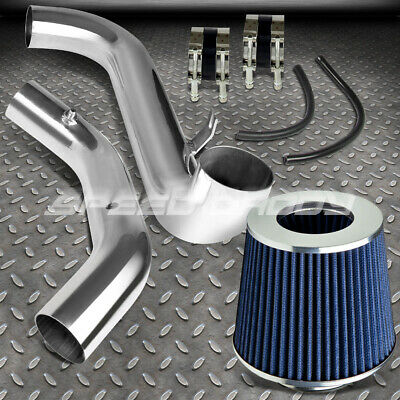 """FOR 07-08 CAMRY 3.5 V6 VX40 COLD AIR INTAKE ALUMINUM PIPING+3/"""" CONE RED FILTER"""