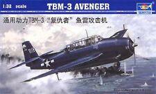 Trumpeter 1/32 TBM-3 Avenger Plastic Model Kit TSM2234