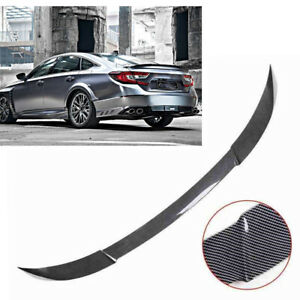 Mad Hornets New Painted Black Rear Tail Trunk Lip Spoiler Wing Trim for HONDA Accord 2018