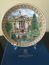 Royal Worcester Sue Scullard MARCA Buckingham Palace Collectible Plate England