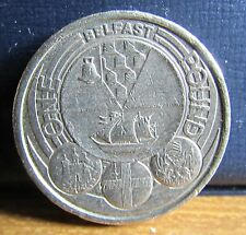 2010 UK £1 One Pound Coin - Belfast Northern Ireland Design