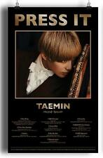 TAEMIN PRESS IT  POSTER [ A VERSION ]  - Poster in Tube SHINEE
