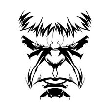 eagle rods sticker decal 7 1 2 x 3 3 4 ebay 2 X 3 Size Bedroom item 2 hulk angry face size 5 3 4 x 7 1 4 decal sticker custom size up to 23 hulk angry face size 5 3 4 x 7 1 4 decal sticker custom size up to 23