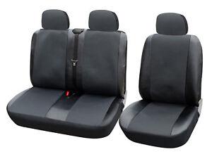 sitzbez ge 1 2 schonbez ge f r mercedes ohne seitenairbag grau schwarz as7323 ebay. Black Bedroom Furniture Sets. Home Design Ideas