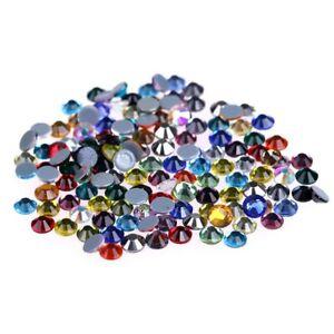 Crystal-AB-Hot-Fix-Rhinestones-Glass-Strass-Hotfix-Iron-On-Stones-For-Garment