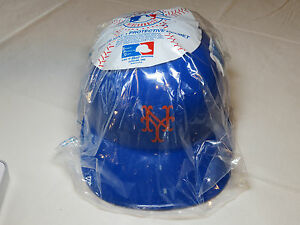 New-York-Mets-NY-baseball-MLB-Souvenir-Helmet-hat-Logo-ST-Lucie-batting-RARE-NOS