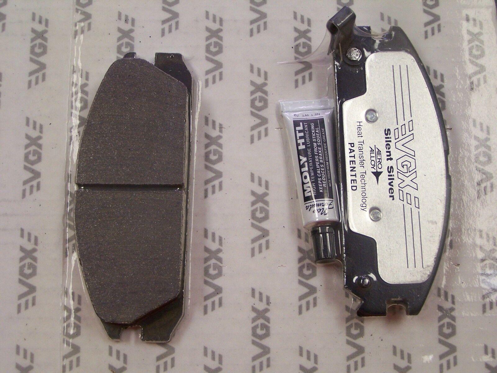 FRONT Semi-Metallic Brake Pads Fits 85-87 Honda Prelude