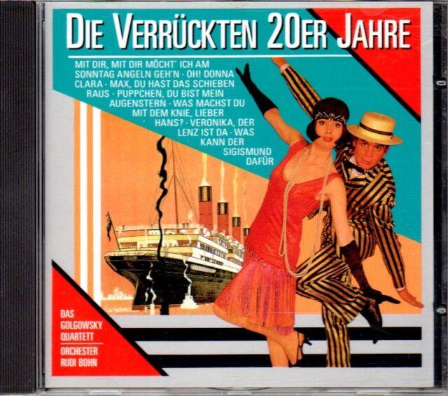 CD Die Verrückten 20er Jahre von Various Artists 1990