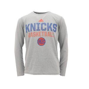 083de03e6 New York Knicks NBA Adidas Climalite Kids Youth Size Long Sleeve ...
