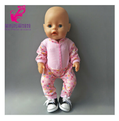 Bambole VESTITI 43cm Rosa Baby Born Set vestiti abbigliamento vestiti bambina