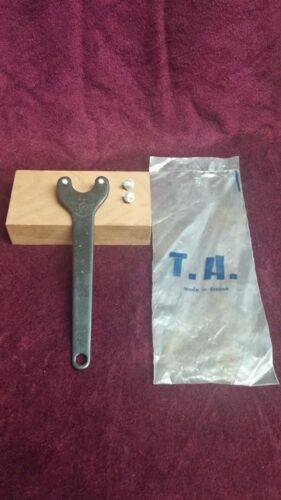 Bottom Bracket Spanner and chain ring bolt tool w// extra pins NOS T.A