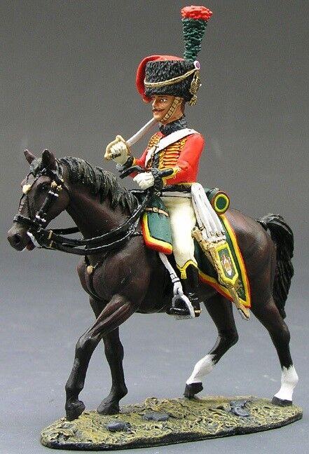 King & Country la edad de Napoleón experimental KCS069 cazador un Cheval MIB