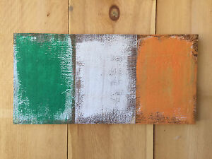 Rustic Irish Flag