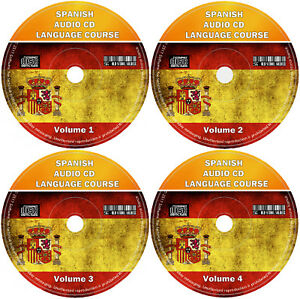 Spanish-Language-Course-For-Beginners-Easy-Learn-By-Listening-4-x-Audio-CD-Set