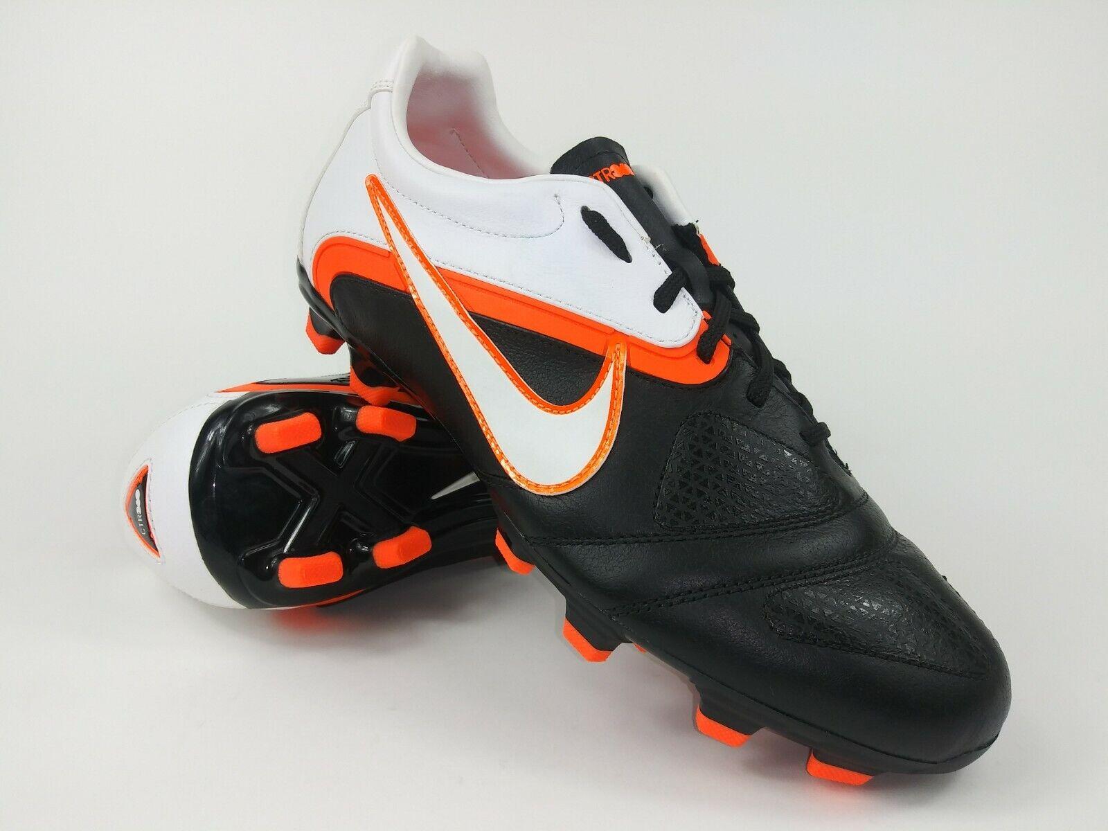 Nike Hombre Raro Ctr360 Libretto II Fg botas De Fútbol Tacos 428731-018 blancoo Negro