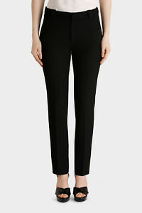 NEW-Roland-Mouret-Lacerta-Straight-Leg-Trouser-Black