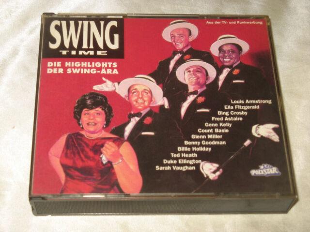 Swing Time Die Highlights der Swing-Ära Sampler Doppel CD