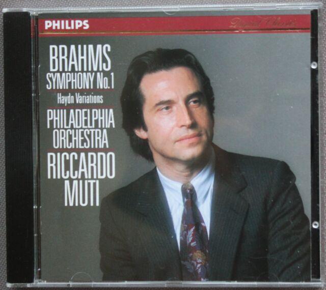 BRAHMS : SYMHONIE N°1     CD