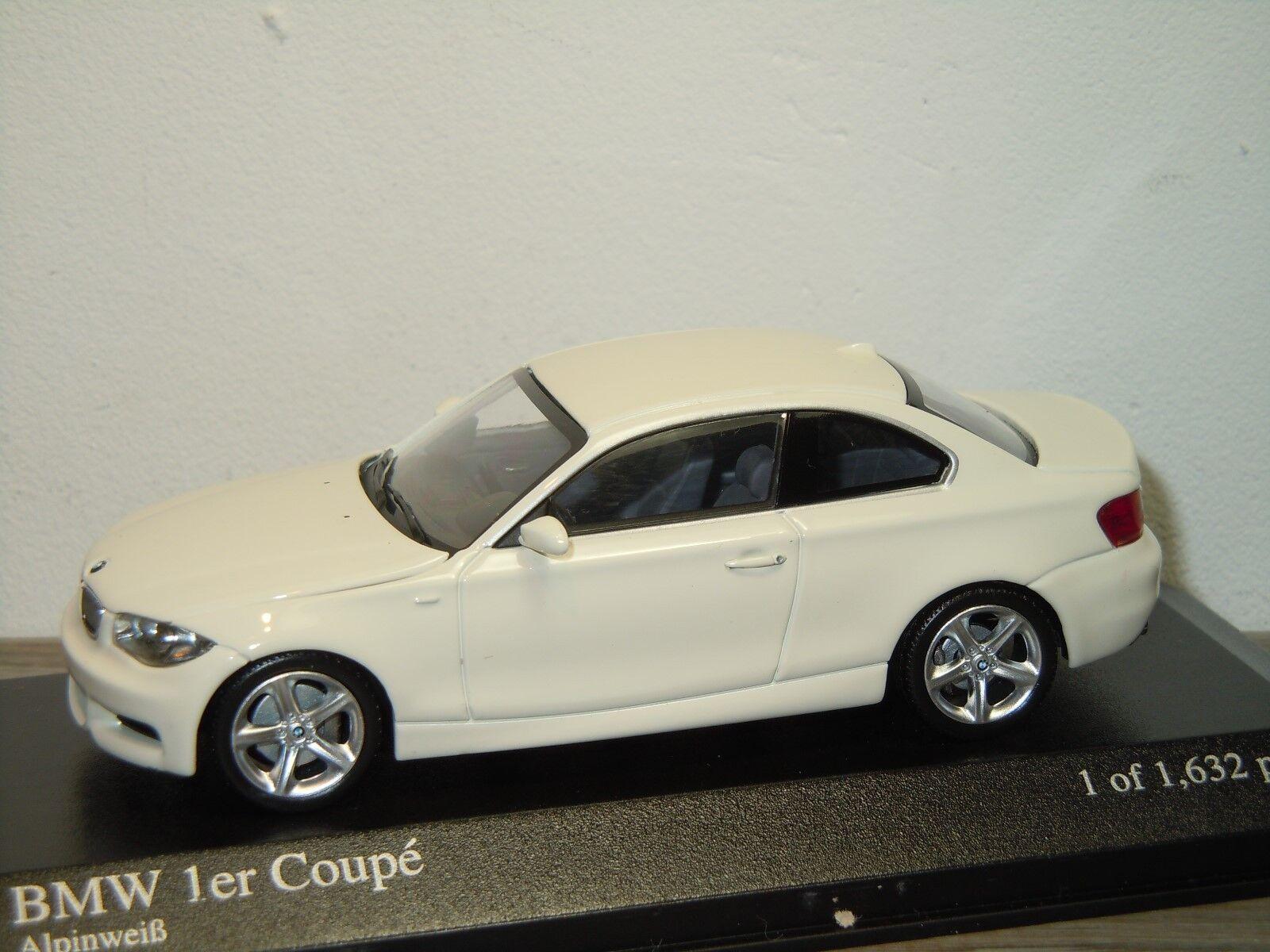 BMW  1 Series Coupe 2007 - Minichamps 1 43 in Box 34914  sortie