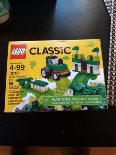 LEGO® Classic Green Creativity Box Building Set 10708 NEW Toys