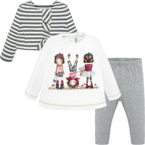 Bolerojacke /& Leggings Gr.68-98 Kombination Mayoral Baby Mädchen 3er-Set Tunika