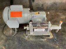 New Piston Metering Pump Helwig 12hp 1ph 120230 Marathon Motor
