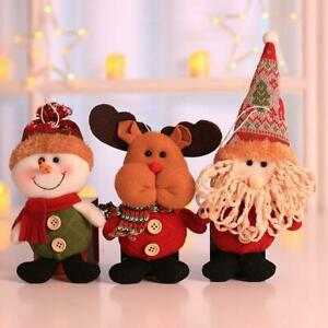Santa-Claus-Snowman-Elk-Xmas-Tree-Hanging-Christmas-Home-Nice-Decor-Ornaments