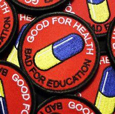 Japanese anime patch inspired by manga AKIRA movie capsule pill