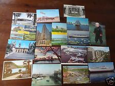VINTAGE POSTCARDS QUEEN MARY SHIP BOSTON TEA PARTY PRINCE WILLIAM PAN AM LOT 16