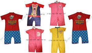 c7cad5f1b3a NEW Boys,Girls,One Piece Swim Suit/costume,Wonder Woman,Peppa ...
