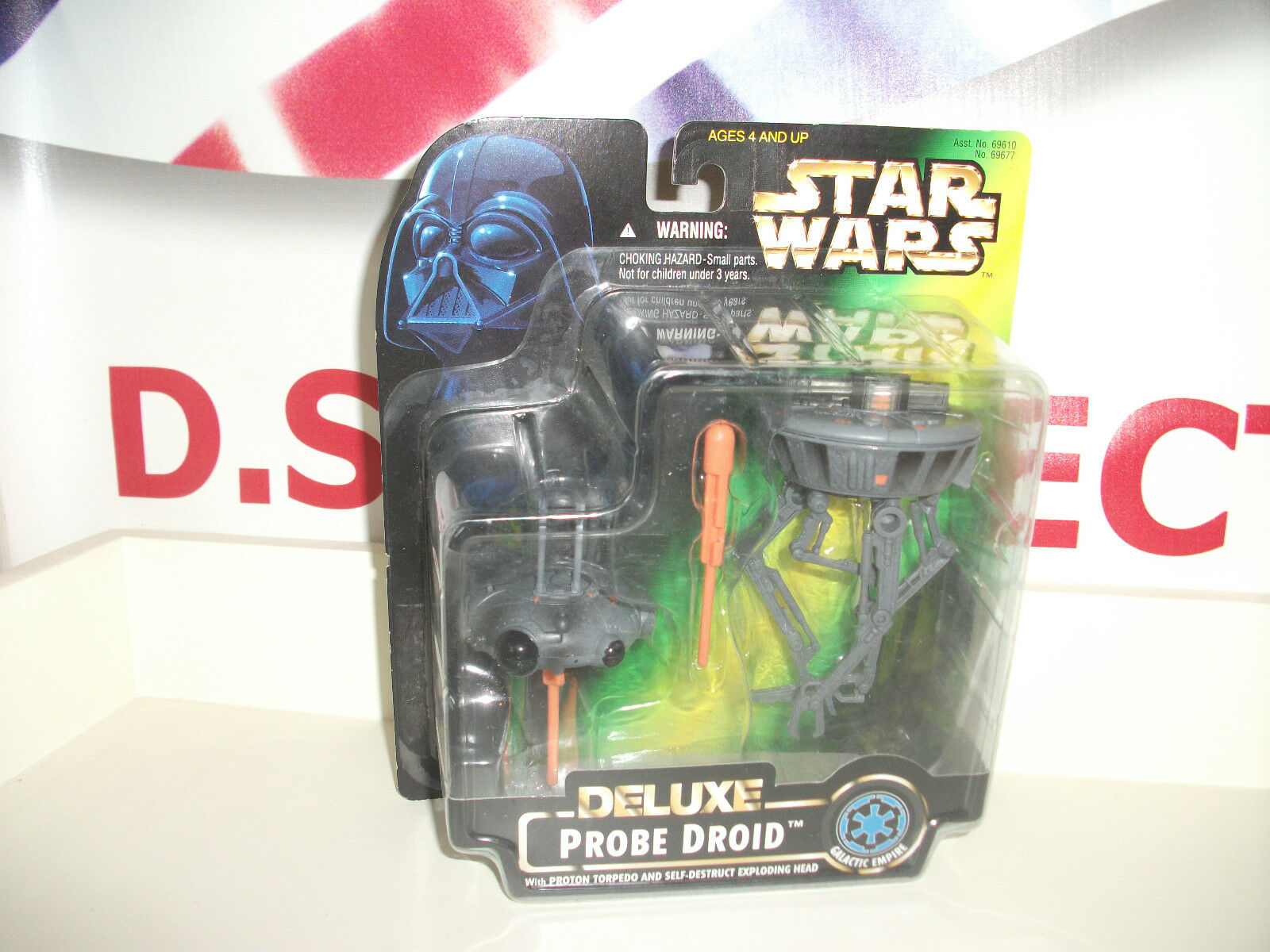 Star wars PROBE DRIOD,Rare power of the force 1996 NEW ON CARD